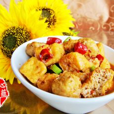 奢华牛肉酱烩油豆腐
