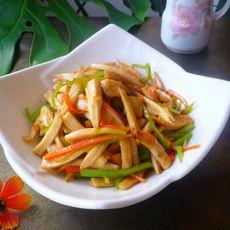 蚝油三丝杏鲍菇