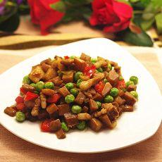 猪肉炒杏鲍菇