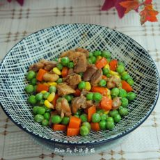 鸡肉炒三丁的做法
