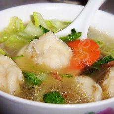 鱼丸粉丝白菜汤的做法