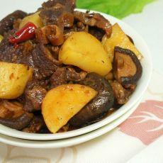 土豆烧牛肉