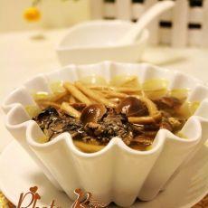 茶树菇煲乌鸡