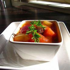 牛肉杂菜汤的做法