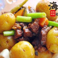 牛肉酱小土豆