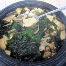 海带豆腐大酱汤的做法