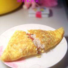 营养早餐--蛋包饭的做法