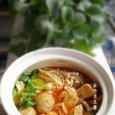 砂锅金针冻豆腐的做法