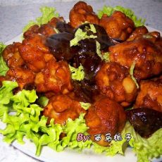 蚝油香菇鸡翅根的做法