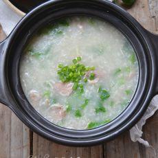 芥菜瘦肉粥
