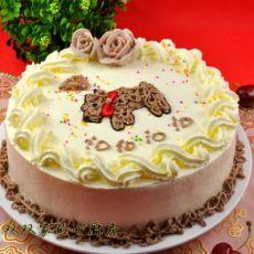【原创首发】可爱小狗蛋糕的做法