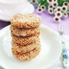 芝香南瓜饼的做法