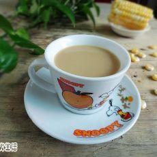 玉米奶茶的做法