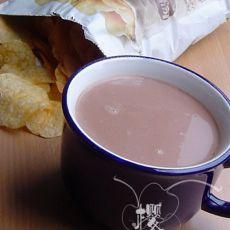 巧克力奶茶的做法