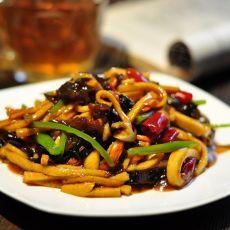 鱼香千叶豆腐丝的做法