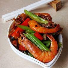 老干妈香辣虾的做法