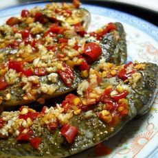 微波剁椒烤鱼的做法