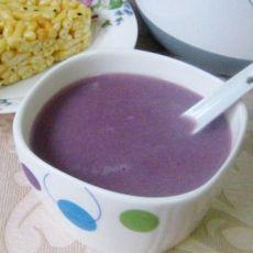 紫薯五谷黄豆浆