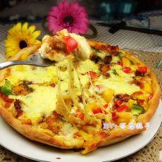 新奥尔良鳕鱼芝士披萨