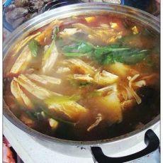骨汤什锦火锅的做法