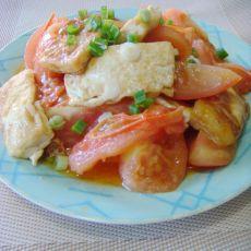 水豆腐炒西红柿