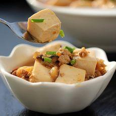 香菇肉末豆腐的做法
