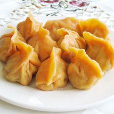 胡萝卜汁猪瘦肉饺子