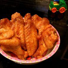 微波炉版新奥尔良烤翅的做法
