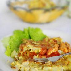 西班牙土豆煎饼