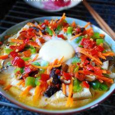 剁椒臭豆腐烘蛋的做法