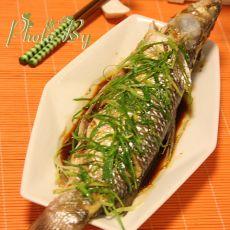 清蒸长江子鱼的做法