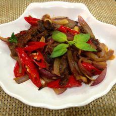 尖椒回锅牛肉的做法