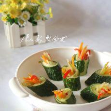 五彩黄瓜卷