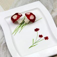 蘑菇樱桃萝卜
