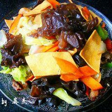 五彩黑白菜