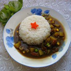 咖喱牛肉盖饭的做法