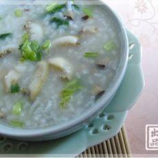 珍鲍香菇菜粥的做法