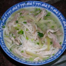 猪肚汤面的做法