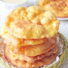 胡萝卜汁薄脆油饼