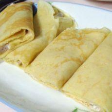 鸡蛋夹心香蕉饼