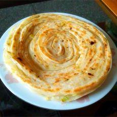 香葱油酥手撕饼的做法