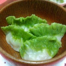 青椒猪肉玉白菜饺的做法