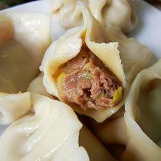 大葱羊肉水饺的做法