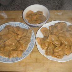 胡萝卜水饺的做法