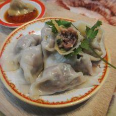 香菜牛肉饺子的做法步骤