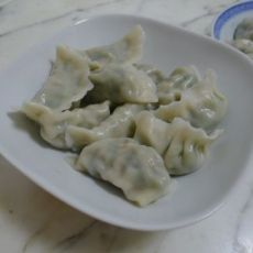 扁豆水饺的做法
