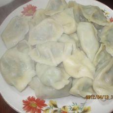 韭菜鸡蛋猪肉水饺的做法