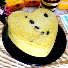爱心奶茶蛋糕的做法