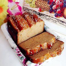 全麦红糖芝麻面包的做法
