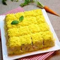 土豆沙拉——像蛋糕一样